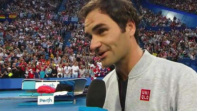 """Federer: """"Ich weiß nicht, ob das ein Vorteil ist..."""""""