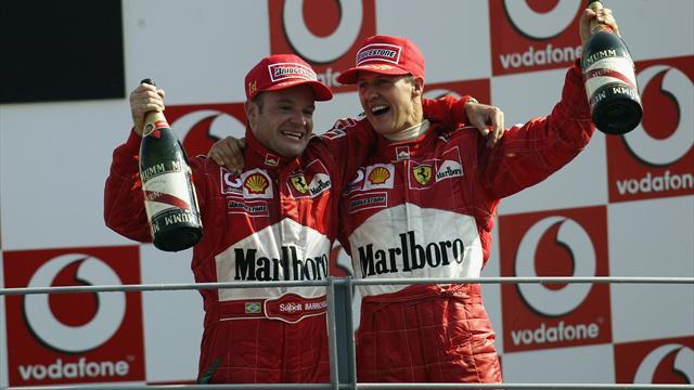Huldigungen an Schumi: Das sagen Barrichello, Ecclestone & Co.
