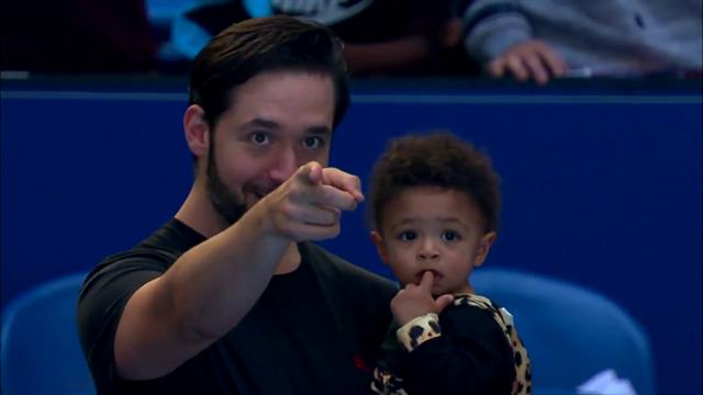 Serenas süßester Fan: Töchterchen verzückt Fans