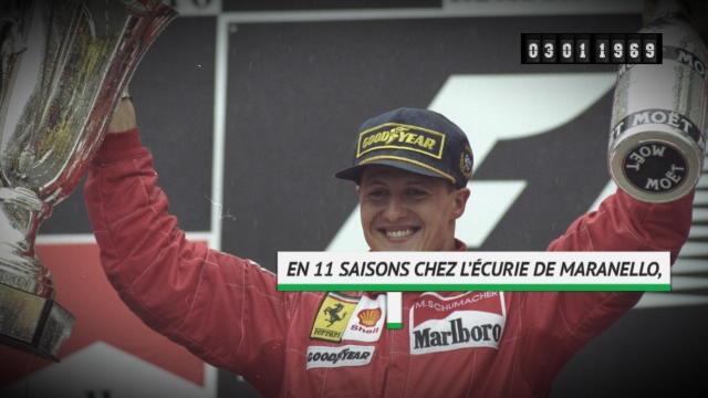 Michael Schumacher fête ses 50 ans
