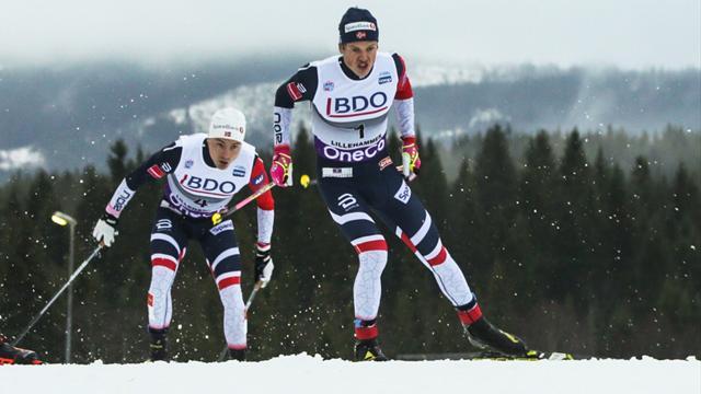 Tour de Ski : Klaebo s'impose sur la poursuite et reste en tête du général