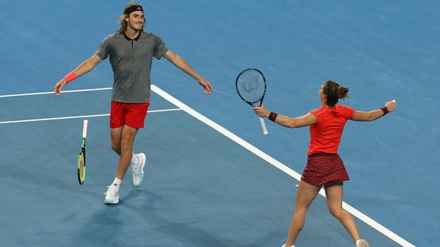 Greece beat Switzerland in Hopman Cup as Federer tastes defeat