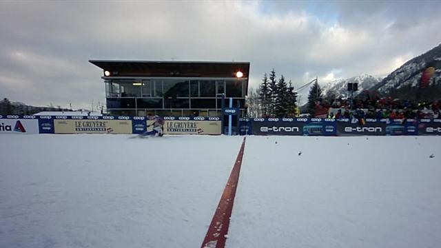 Oestberg wins 10km pursuit in Obsterdorf