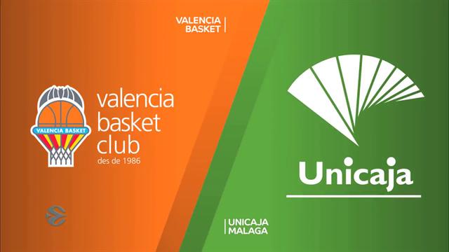 EuroCup highlights: Valencia Basket v Unicaja Malaga