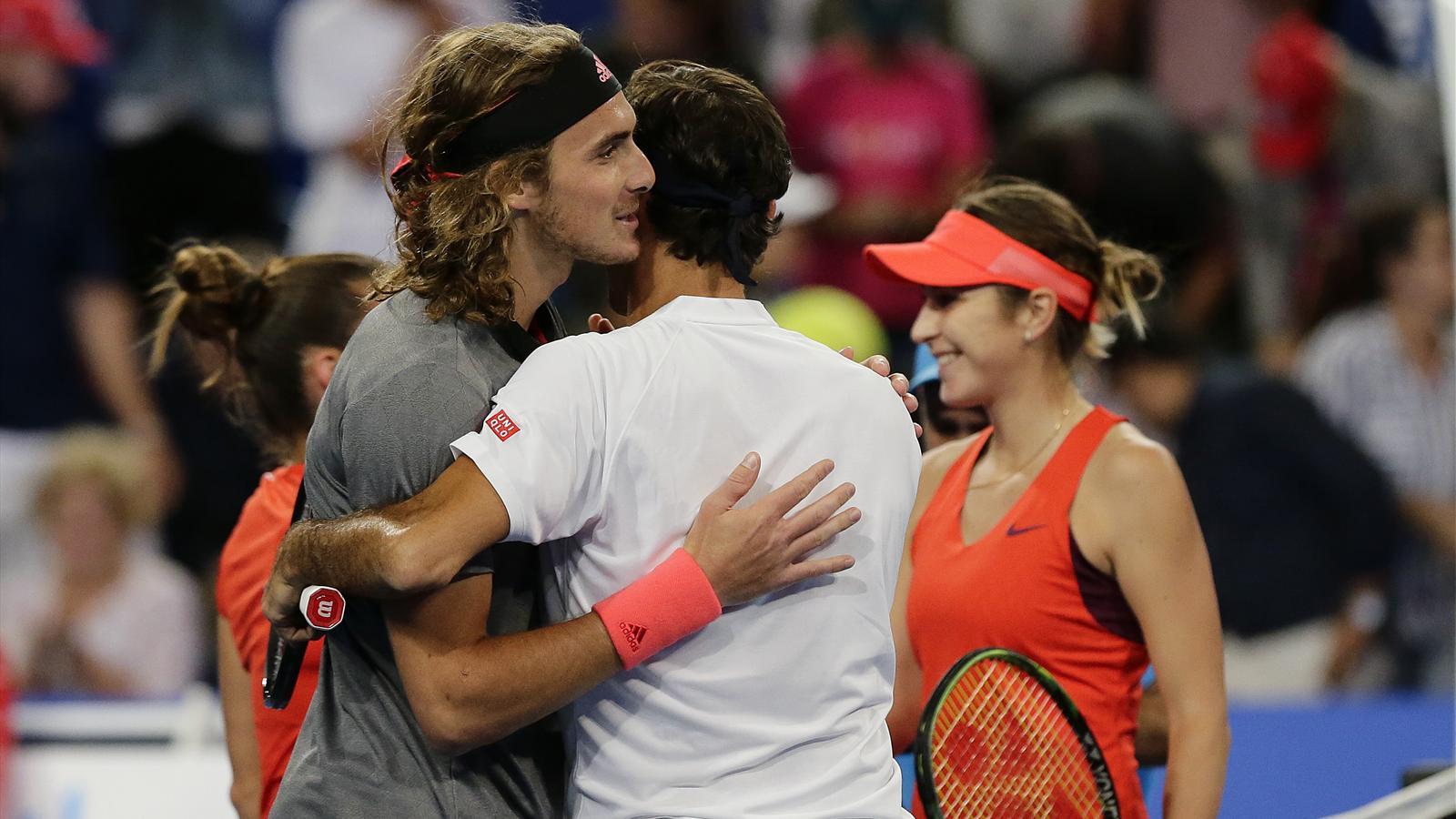 Tennis News Federer Beating Tsitsipas Was Like Playing My Son