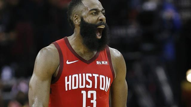 Superstar Harden wirft Houston im Topspiel beim NBA-Champion zum Sieg