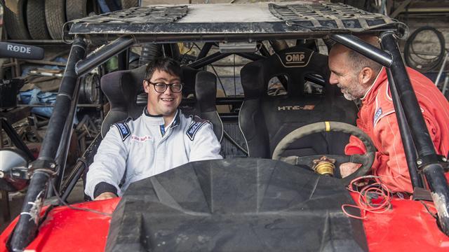 Lucas Barron fa la storia della Dakar: sarà il primo partecipante con sindrome di Down