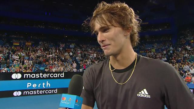 Zverev - 'Hopefully I can help out Angelique a bit more this year'