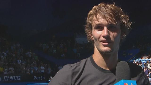Zverev freut sich auf Duell mit Federer - und verweigert letzte Antwort