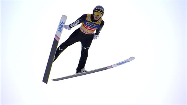 Kobayashi takes third victory in Four Hills