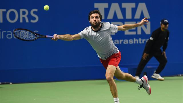 Steve Darcis se qualifie pour les demi-finales — ATP Pune