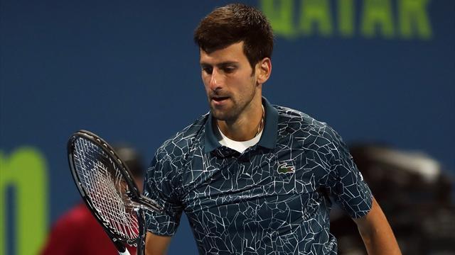 Cette fois, pour Djokovic, ça a cassé !