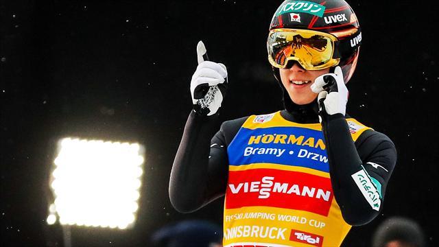 Sărituri cu schiurile: Ryoyu Kobayashi a câștigat și la Innsbruck, fiind la un pas de Marele Șlem