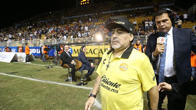 Maradona in hospital, goes for endoscopy