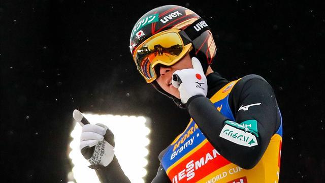 Mit Video | Kobayashi stellt Weltcup-Rekord ein, Leyhe Fünfter