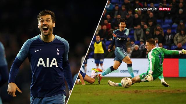 Highlights: Tottenham destruerede Tranmere med syv mål