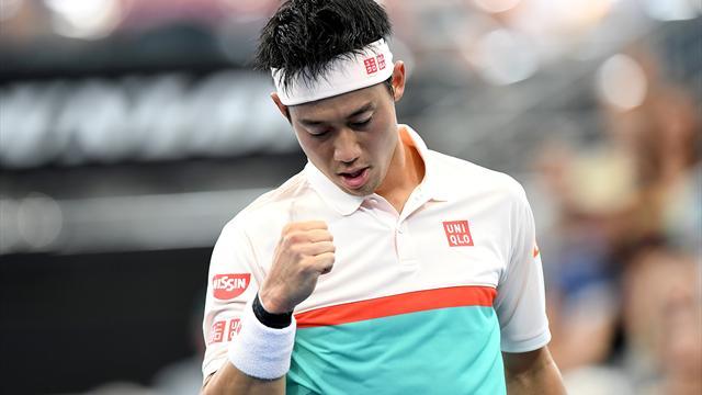 Kei Nishikori n'a fait qu'une bouchée de Jérémy Chardy — ATP Brisbane