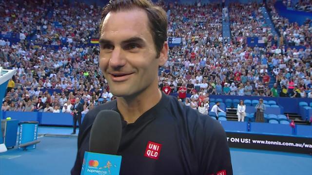 Federer: I'm playing well and really enjoying myself