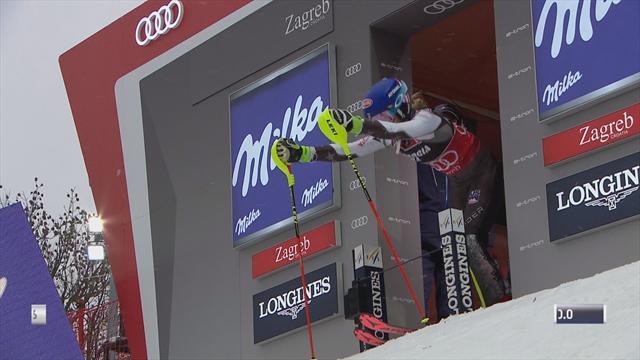 Proche de la perfection, Shiffrin a repoussé la concurrence à plus d'une seconde en 1re manche
