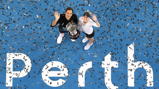 Federer and Bencic win Hopman Cup again for Switzerland