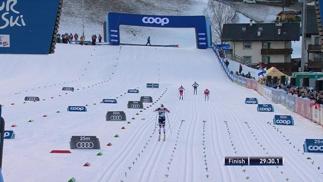 Norway's Oestberg wins in Val di Fiemme