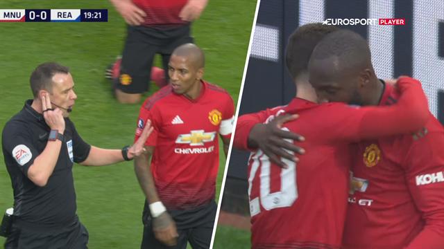 Highlights: Manchester United kørte en sikker FA Cup-sejr hjem mod Reading