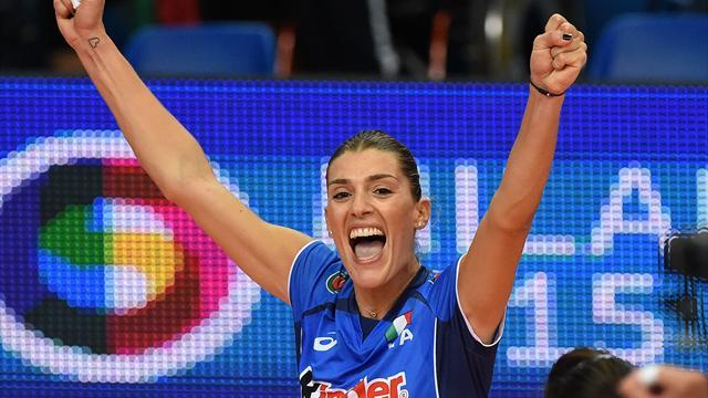 I primi 40 anni di Francesca Piccinini, la regina della pallavolo italiana