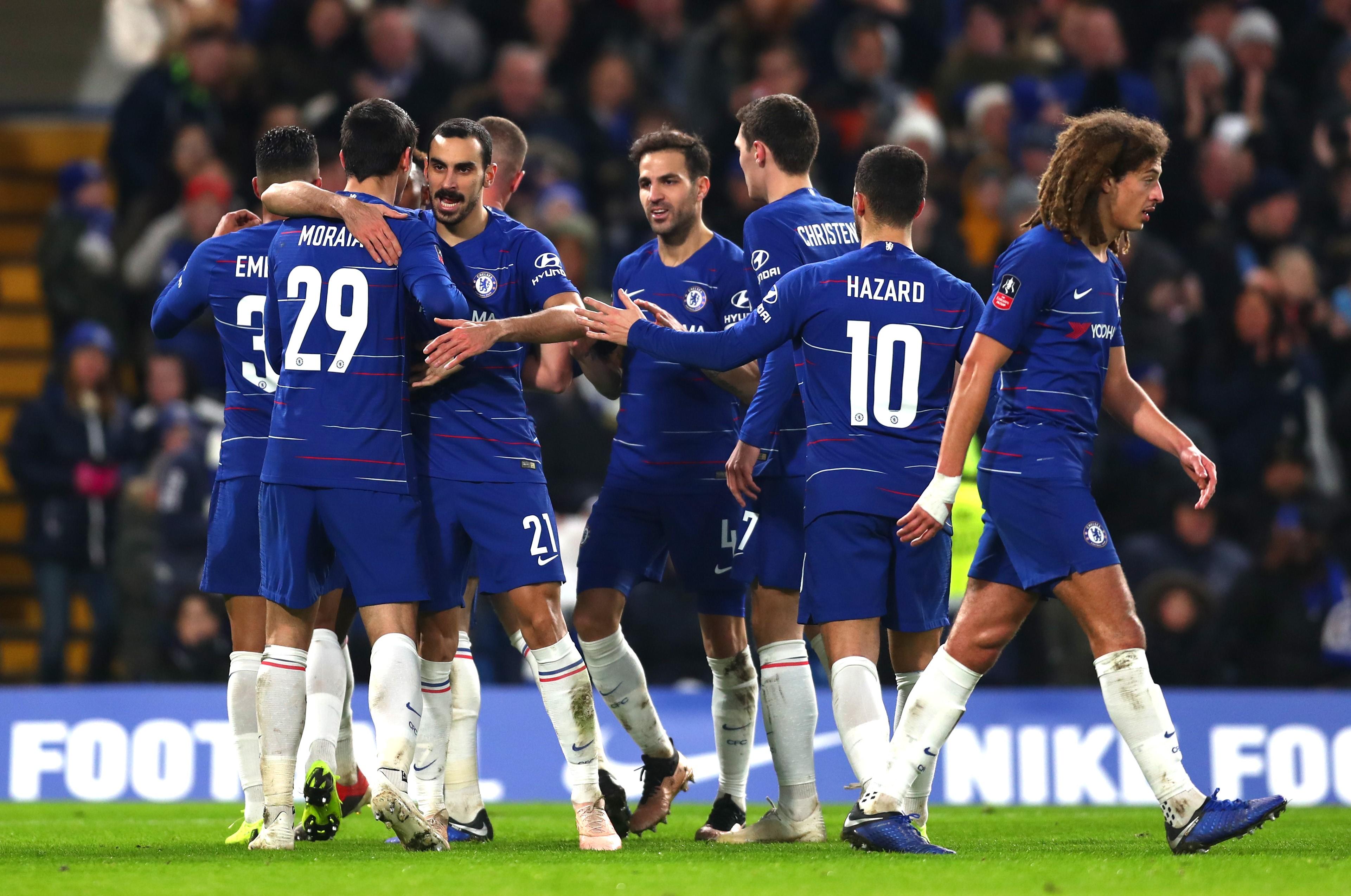 Morata double buteur pour Chelsea