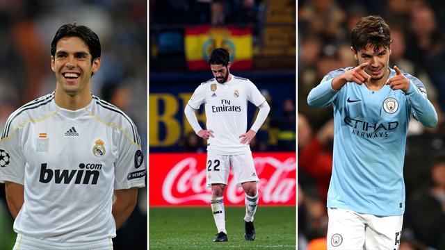 De Kaká a Brahim Díaz, más de 300 millones en busca del centrocampista perfecto