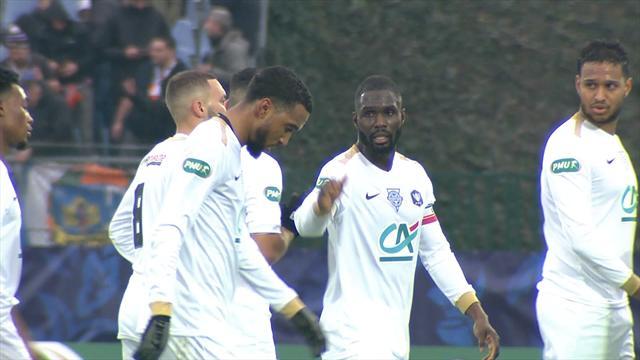 Un but à la 93e et Sannois Saint-Gratien signe le plus gros coup de son histoire