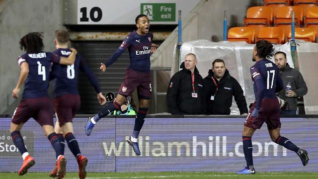 ⚽✅ El joven Willock encarrila la primera victoria del Arsenal de Emery en la FA Cup (0-3)