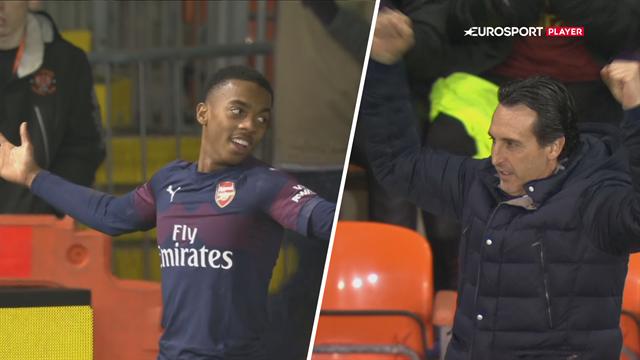 Highlights: Teenager blev dobbelt målscorer og sikrede Arsenal FA Cup-sejr