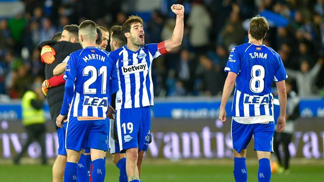 High-flying Alaves earn point at Girona