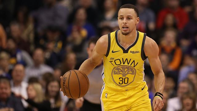 NBA: Nueva barbaridad de Stephen Curry y los Warriors en el partido con más triples de la historia
