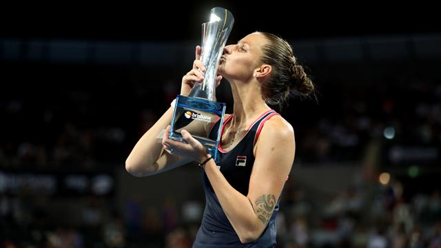 Brisbane : Pliskova a fait craquer Tsurenko - Tennis - WTA - Brisbane