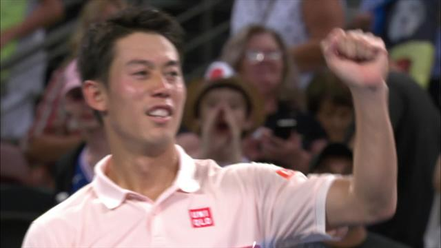 Nishikori seals ATP Brisbane triumph for 12th title