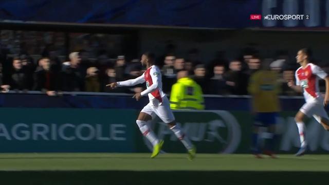 Monaco ne pouvait pas espérer meilleur début de match : Sylla a marqué après 75 secondes