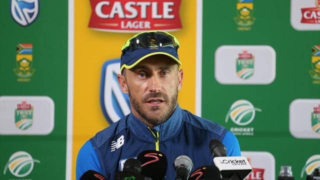 Du Plessis suspended as S Africa guilty of slow over rate