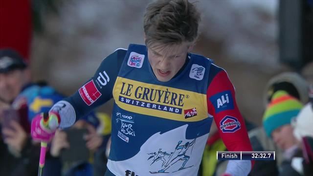 Tour de Ski: Johannes Klaebo se corona en Val Di Fiemme con la victoria y la general