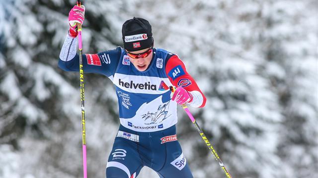 Johannes Klaebo, plus jeune vainqueur du Tour de ski