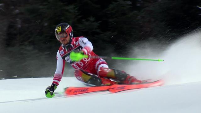 Brilliant Hirscher delivers blistering second run to win in Zagreb