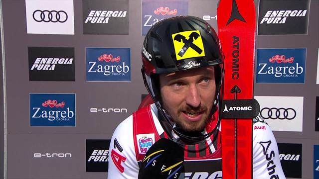 Hirscher - 'This was a hard day ... it's been hard to adapt to conditions'