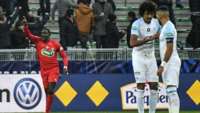 Crisi senza fine per il Marsiglia di Rudi Garcia: OM eliminato in Coppa dall'Andrezieux