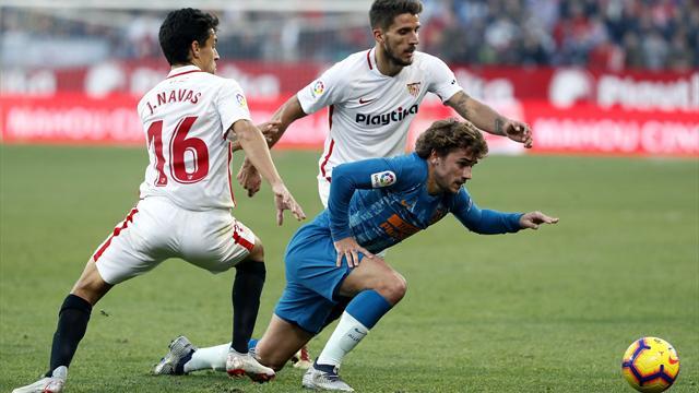 LaLiga, Sevilla-Atlético de Madrid: Partidazo, mucha tensión y reparto de puntos (1-1)