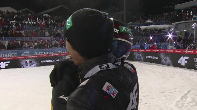 Watch the spectacular Kobayashi jump that sealed his Four Hills grand slam