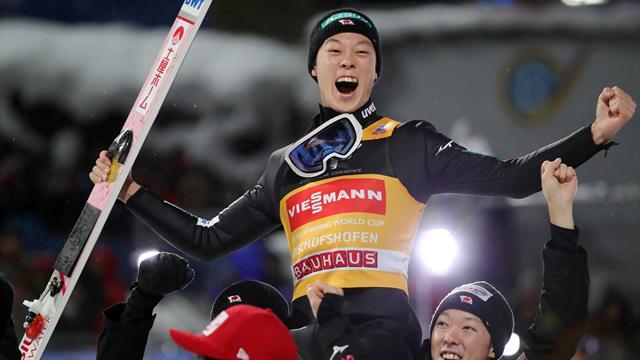 Ryoyu Kobayashi, al treilea săritor ce reușește Marele Șlem în Turneul Celor Patru Trambuline