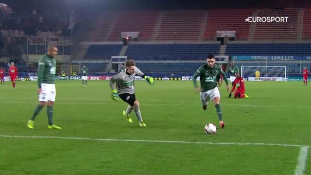 6-0 : Saint-Etienne n'a fait qu'une bouchée du Petit Poucet