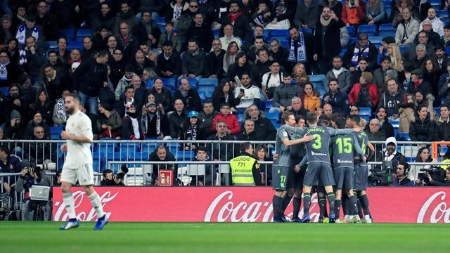 El Bernabéu se vacía: dos de las seis peores entradas en los últimos diez años