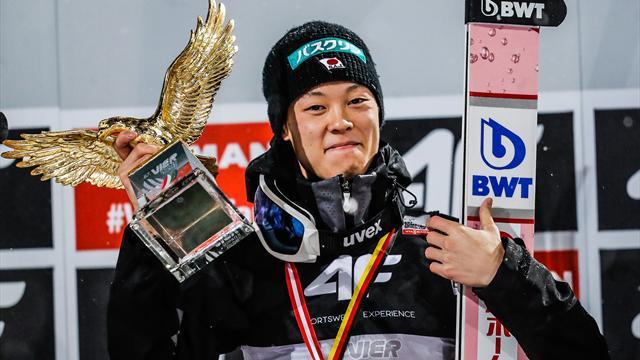 Überflieger aus der Zukunft: Kobayashi verzückt die Skisprung-Welt