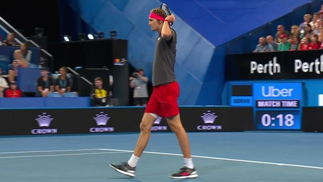 Zverev knocks Bencic over with a 207kmph ace